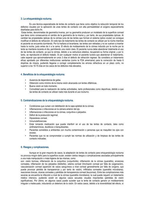 Ortoqueratología Logroño