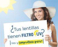 Lentes de Contacto Filtro UV
