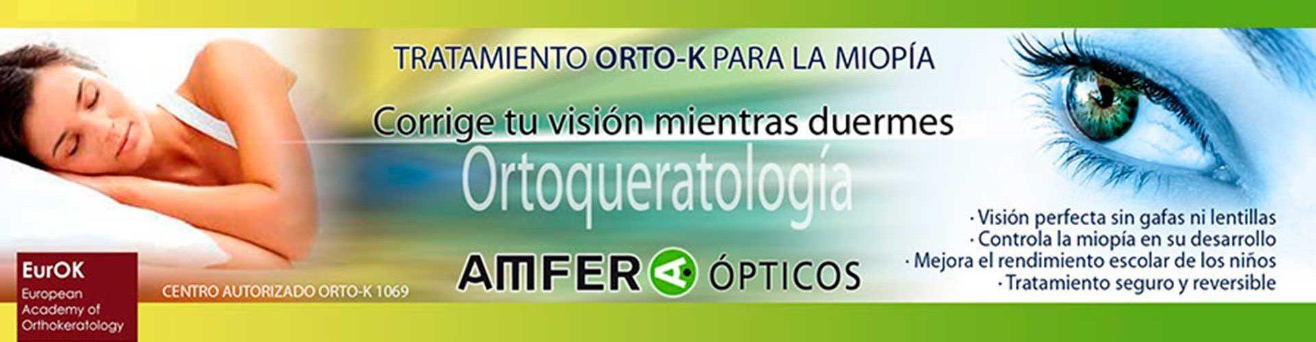 Orto K en Amfer Ópticos