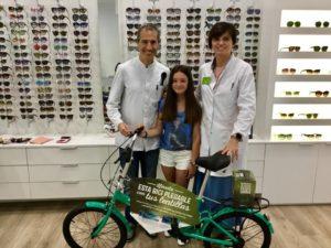 Sorteo bici plegable en Amfer Ópticos