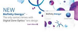 Las lentillas de la Felicidad: Biofinity Energys